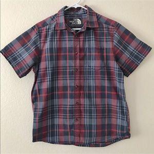 The North Face Casual Plaid Button Down Shirt